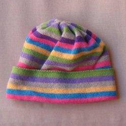 画像1: R..S帽子 グリーンイエロー系